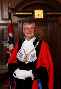 This is Councillor Roger Berry's last week as Mayor of Worcester