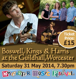 Boswell, Kings & Harris Poster