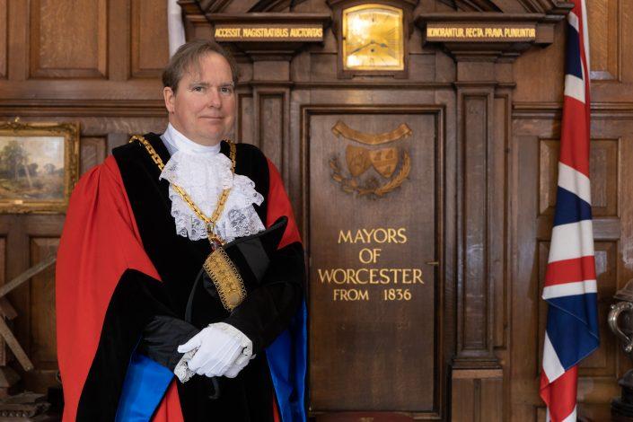 Mayor of Worcester, Cllr Stephen Hodgson